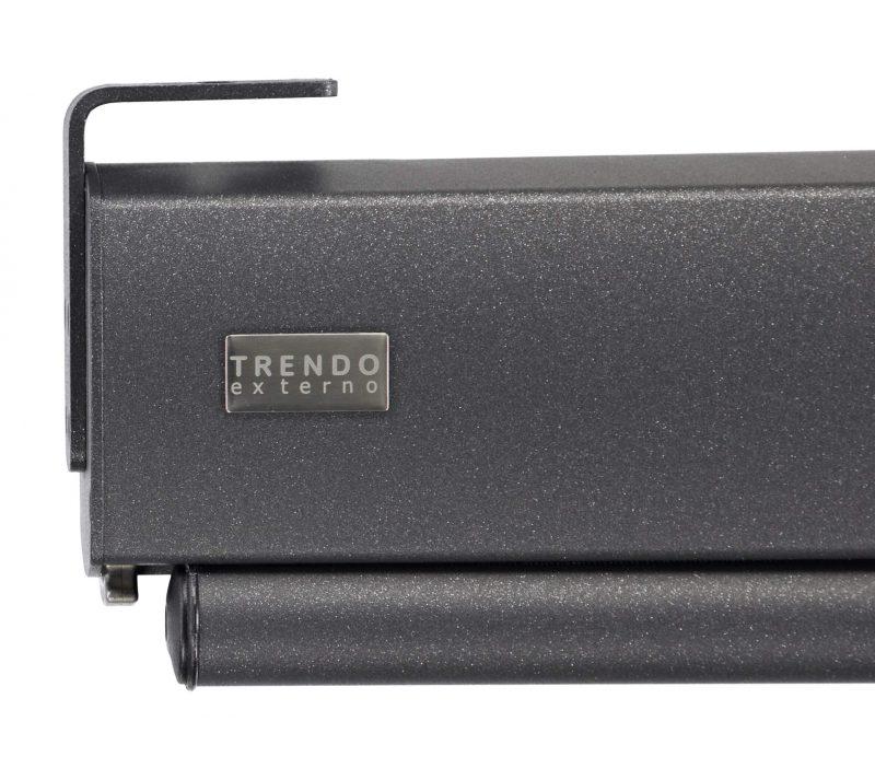 Terras-windscherm close-up cassette.
