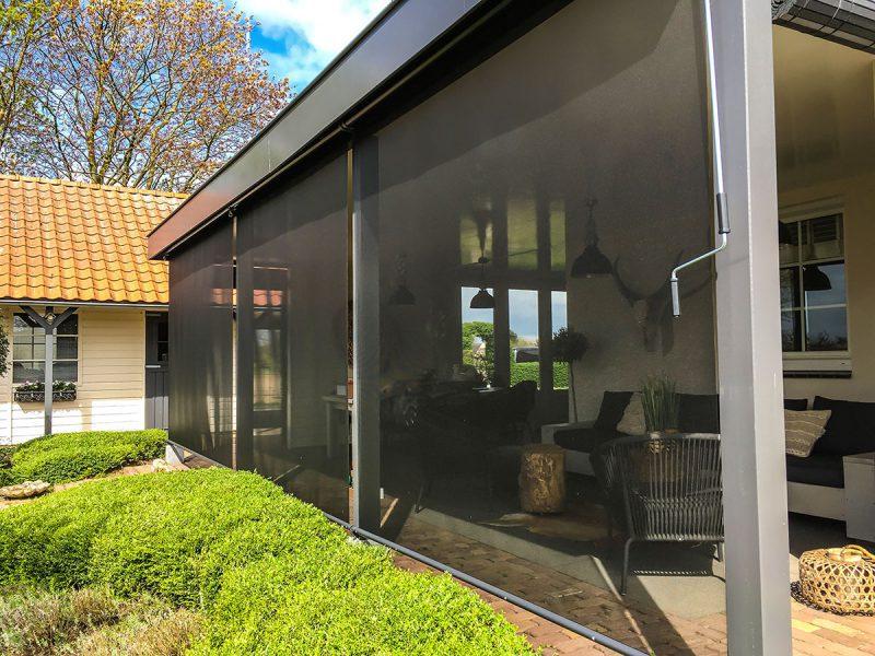veranda windscherm