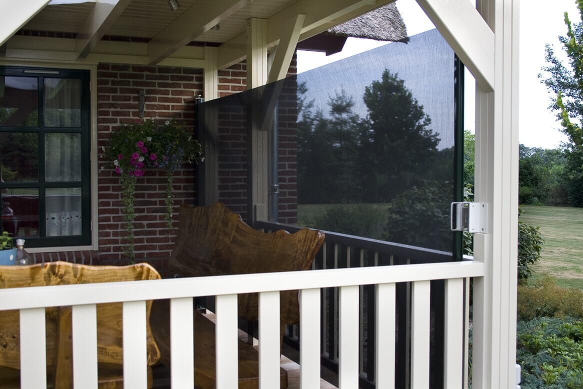 uitschuifbaar windscherm veranda-terras