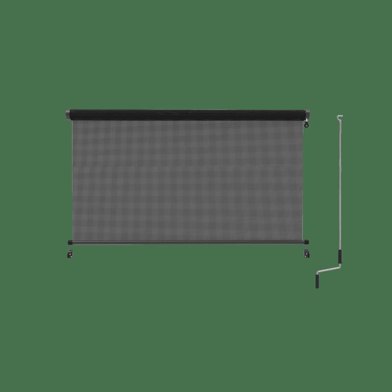 Verandawindscherm met slingerbediening